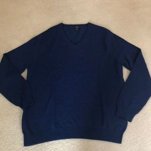J Crew large royal blue sweater